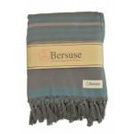 Tripolis Terry Peshtemal Towel - 39X66 Inches, Anthracite