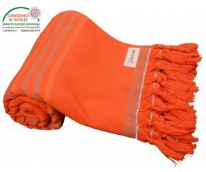 Tripolis Terry Peshtemal Towel Orange