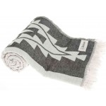 Tulum Dual-Layer Turkish Towel - 37X70 Inches, Black