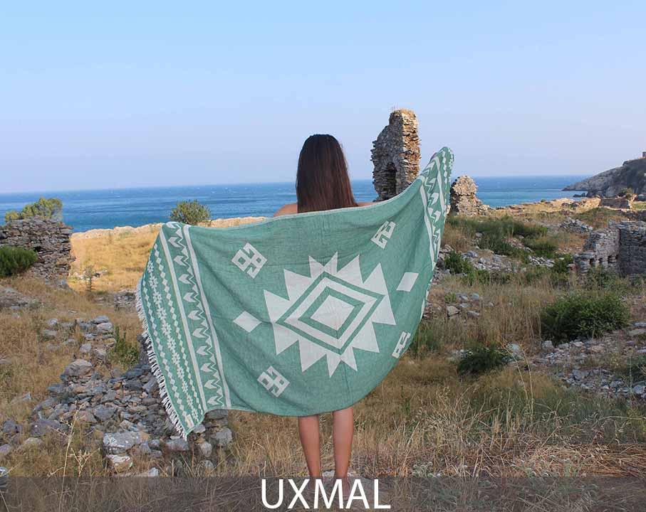 Uxmal Beach Towel