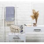 Ventura Turkish Towel - 37X70 Inches, Dark Blue