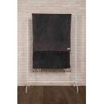 Zuma Stonewashed Turkish Towel - 33X66 Inches, Anthracite